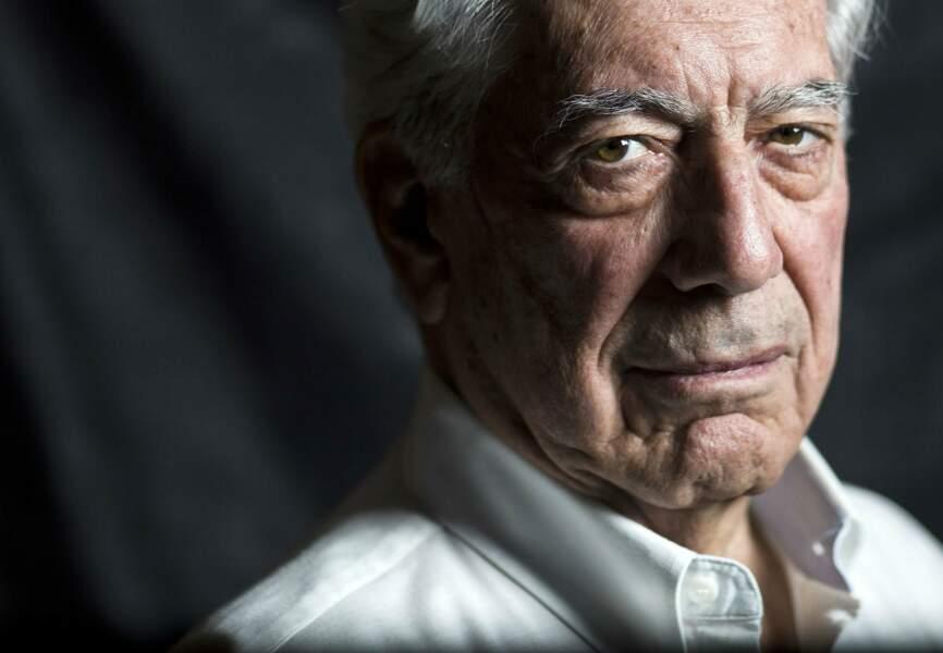 Portrait de Mario Vargas Llosa, prix Nobel de Littérature