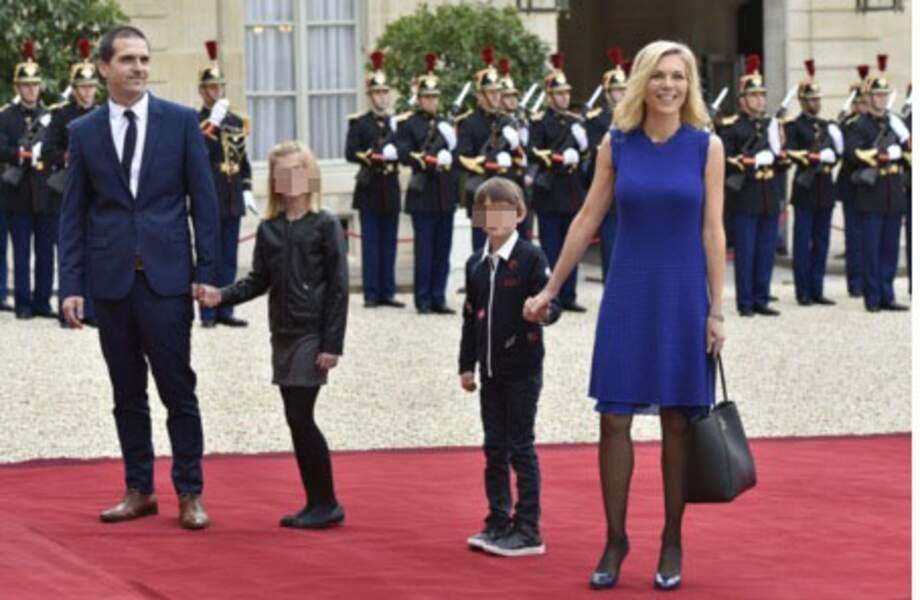 Laurence Auzière et son mari Guillaume, avec leurs enfants Emma et Thomas