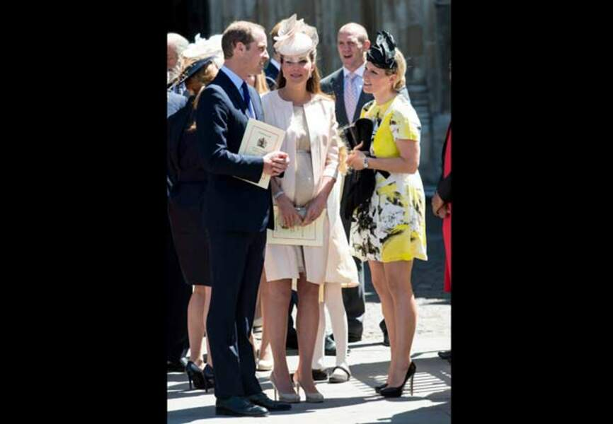 Discussion avec Zara Phillips, la fille de la princesse Anne