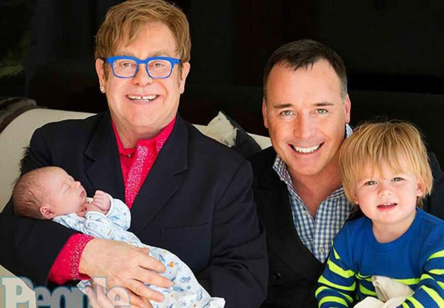 Janvier: Elijah est entré dans la vie d'Elton John