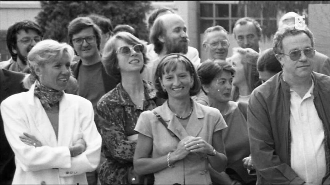 Brigitte Macron, à l'époque Madame Auzière