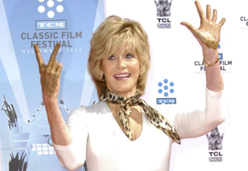 Mission accomplie pour Jane Fonda