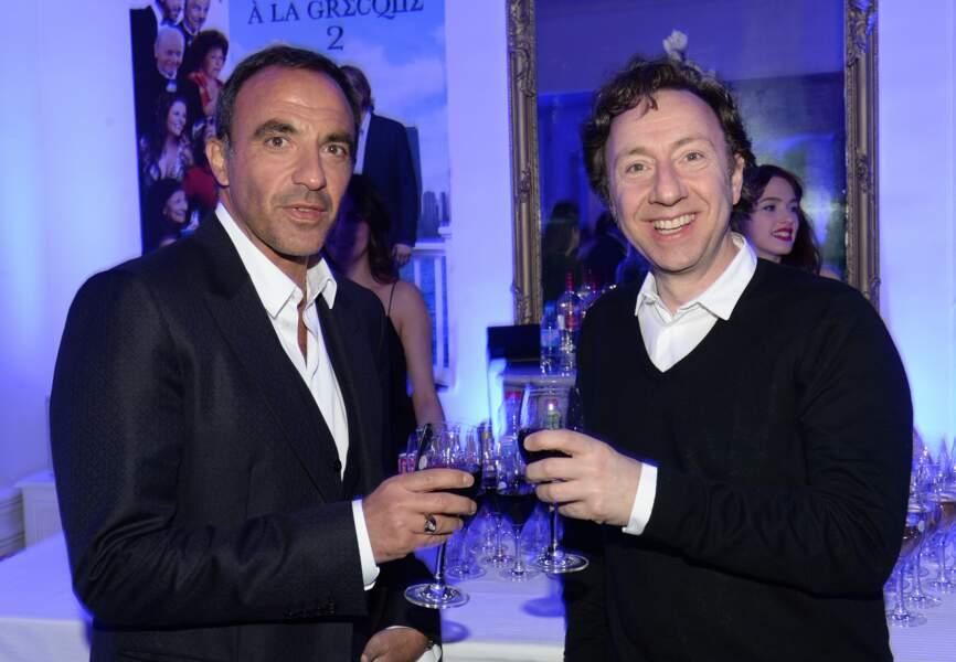 Nikos Aliagas et Stéphane Bern