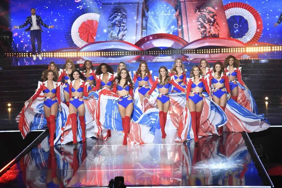 Des beautés sur scène