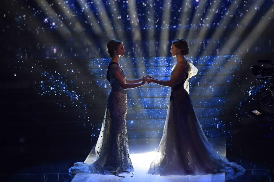 Miss Provence et Miss Normandie les deux dernières prétendantes à l'élection de Miss France 2021