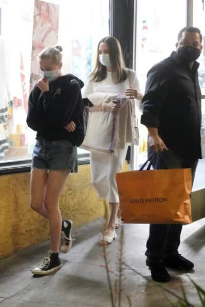 Moment shopping pour Angelina Jolie et Shiloh, le 8 janvier 2021