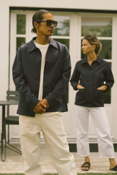 La veste bleue, 150€, Hopaal