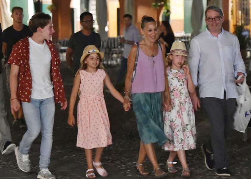 Sarah Jessica Parker et sa famille en vacances