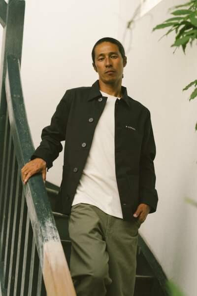 La veste noire, 160€, Hopaal