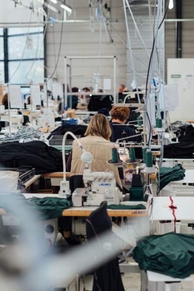 Le Pull du Futur est tricoté, découpé et confectionné à la Regrippière, à moins de 40 km de Nantes.