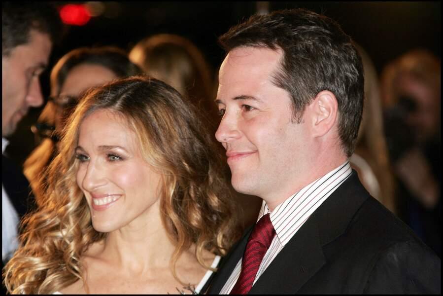 Sarah Jessica Parker est mairée à Matthew Broderick