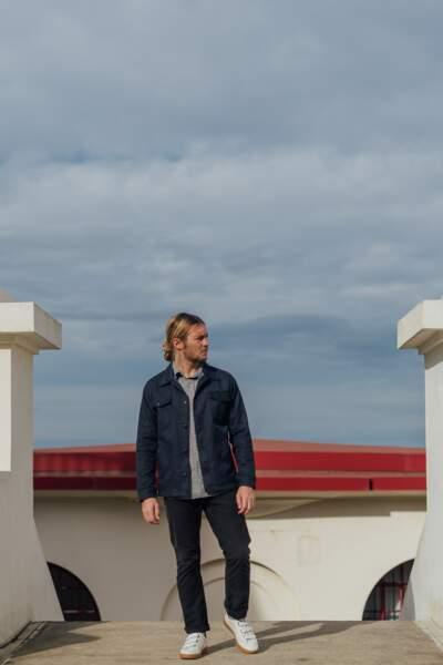 La veste infinie recyclée, 205€, Hopaal