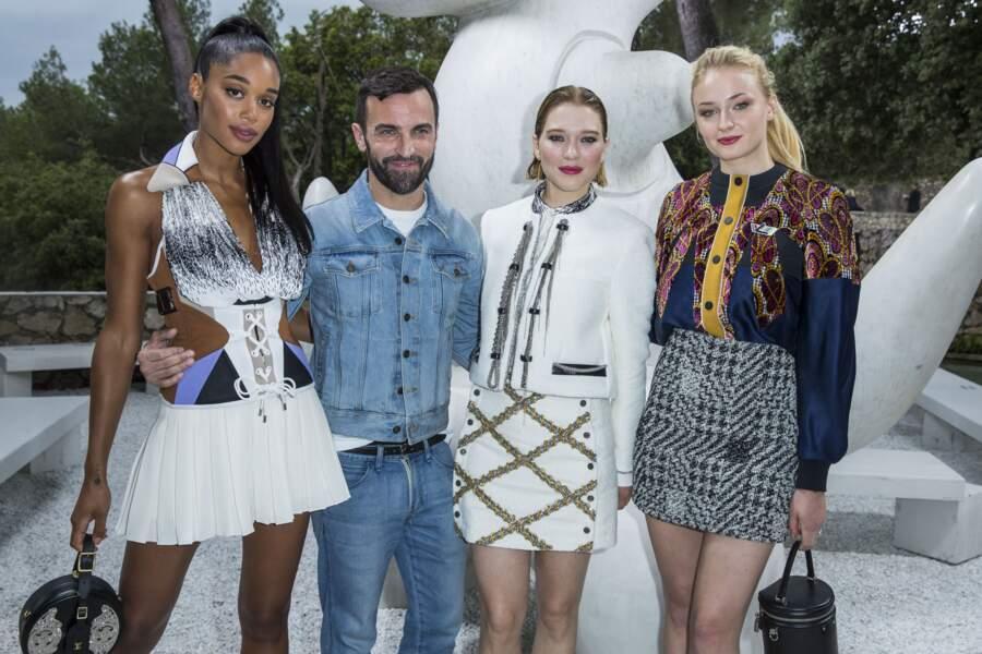 """Nicolas Ghesquière, directeur artistique des """"collections Femme"""" de Louis Vuitton, fait clairement partie de ses référence en matière de haute couture."""
