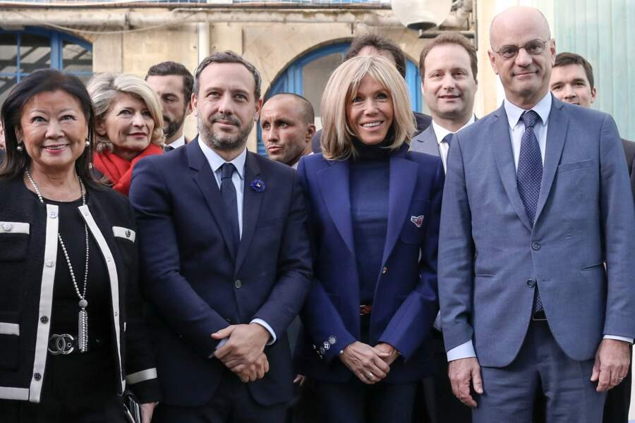 """Au sein du gouvernement, Brigitte Macron a plusieurs """"chouchous"""". Jean-Michel Blanquer, ministre de l'Éducation nationale, en fait partie."""