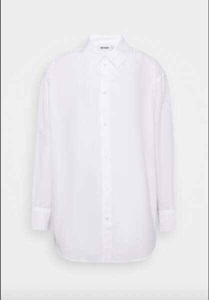 Chemise blanche ample, 44€, Weekday sur Zalando.fr