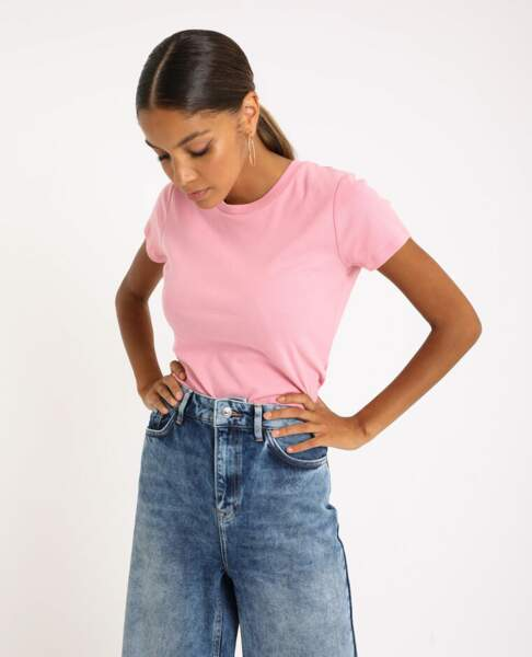 Tee-shirt basique, 9,99€, Pimkie