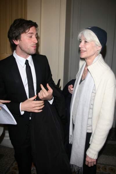 Françoise Hardy et Thomas Dutronc, un adorable duo mère-fils