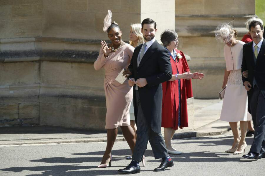 Serena Williams et son mari Alexis Ohanian sont des proches de Meghan Markle et du prince Harry. Le tenniswoman est une amie fidèle de l'actrice, invitée au mariage royal en mai 2018.