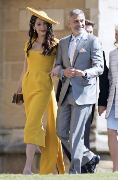 Le couple star Amal et George Clooney sont également des intimes de Meghan Markle et du prince Harry. Invités à leur mariage, ils n'avaient pas manqué de faire sensation.