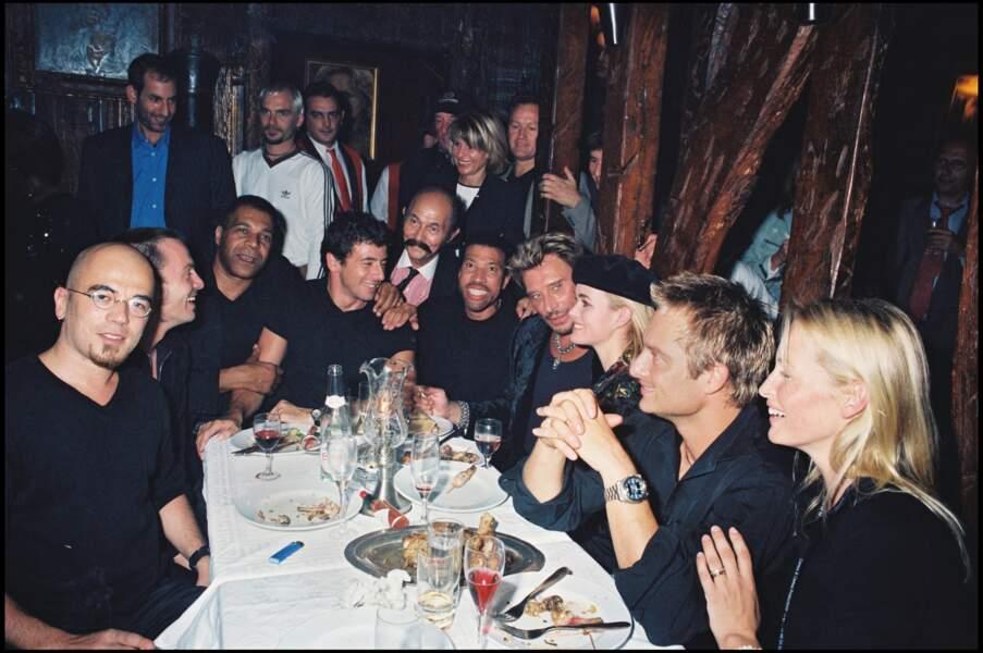 Un dîner avec Johnny