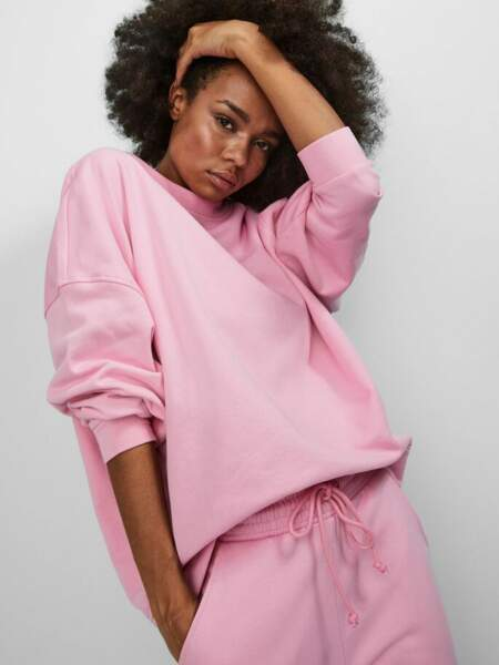 Sweat oversize en coton biologique, 26,99€, Vero Moda