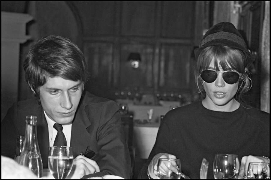 En 1966, Françoise Hardy tombe sous le charmes de Jacques Dutronc