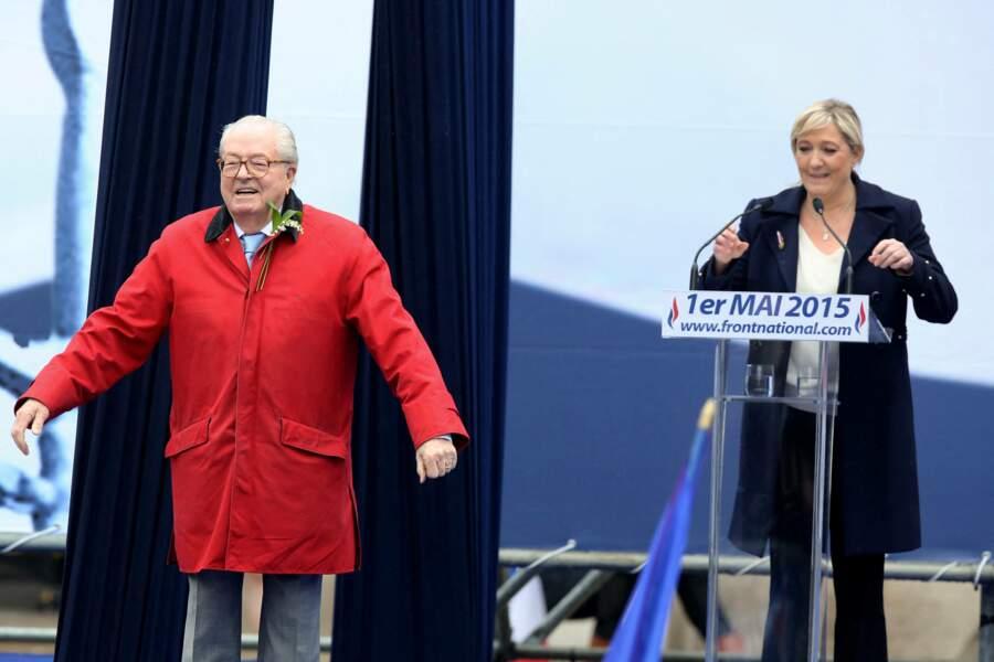 Jean-Marie et Marine Le Pen faisaient perdurer la tradition