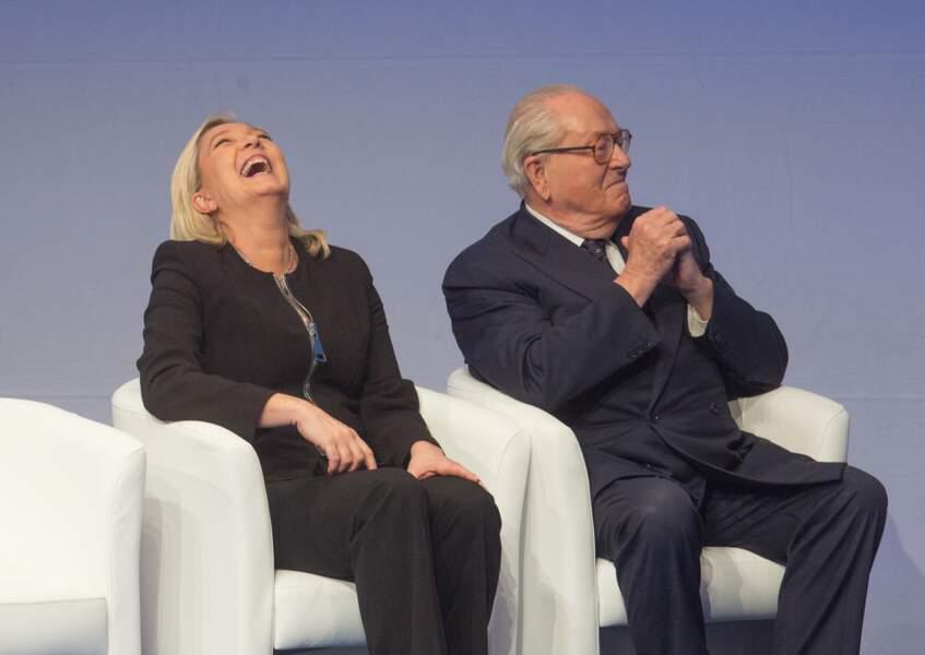 Jean-Marie faisait rire sa fille, Marine Le Pen
