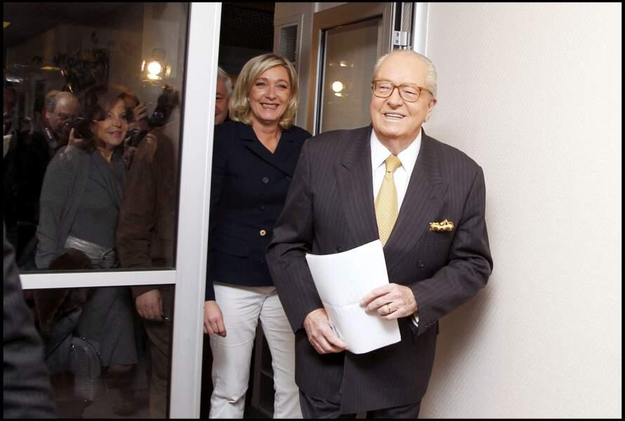 Jean-Marie Le Pen a prononcé ses derniers vœux