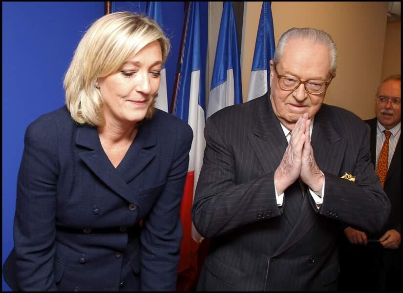 Jean-Marie Le Pen raccrochait sa veste de président
