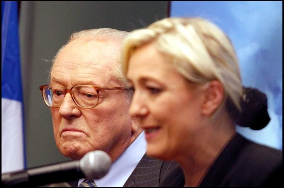 Jean-Marie Le Pen était à ses côtés