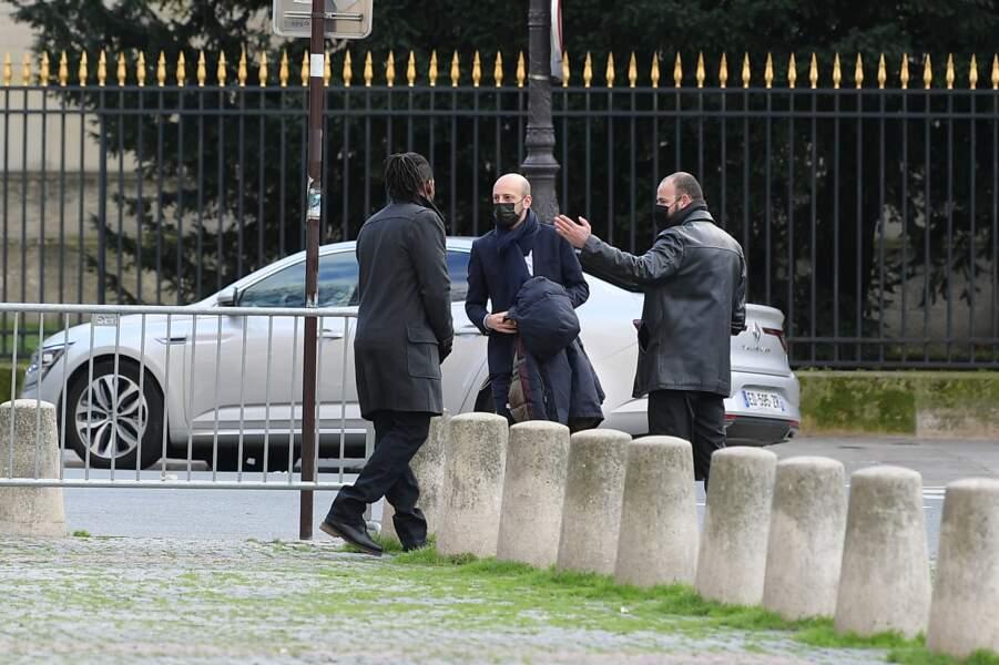 Stanislas Guerini a, quant à lui, représenté la majorité présidentielle aux obsèques de Marielle de Sarnez