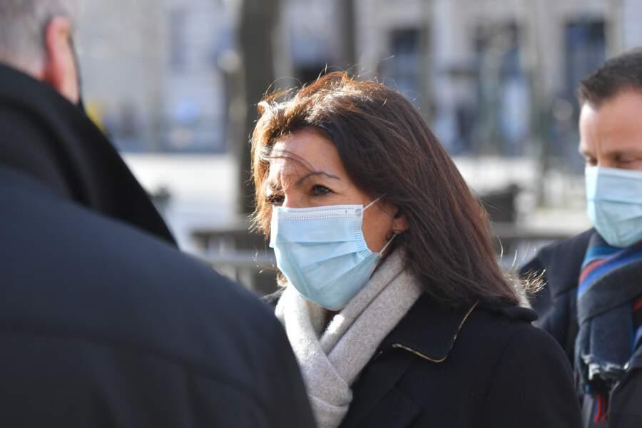 Maire de Paris, Anne Hidalgo a aussi souhaité saluer la mémoire de Marielle de Sarnez ce 18 janvier