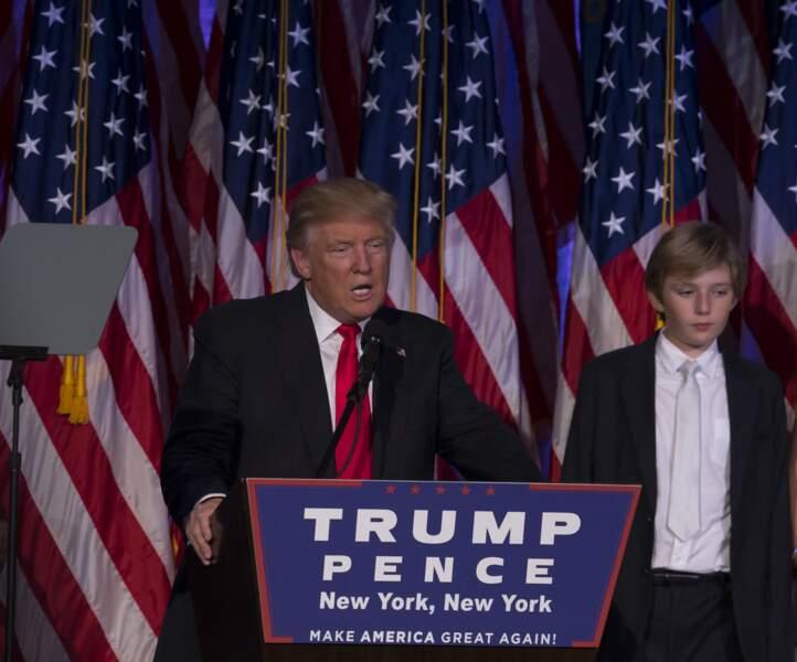 Barron Trump en 2016