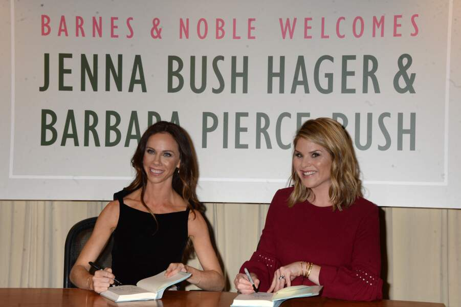 Barbara et Jenna Bush en 2017