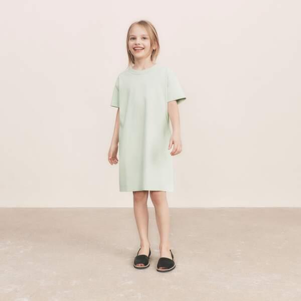 Robe T-shirt Manches Courtes Fille,   14,90€, Uniqlo U