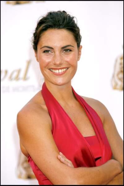 Alessandra Sublet à la cérémonie d'ouverture du 47ème Festival de télévision de Monte Carlo en 2007