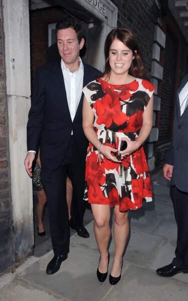 Les années passant, Eugenie et Jack deviennent l'un des couples chouchou des Britanniques
