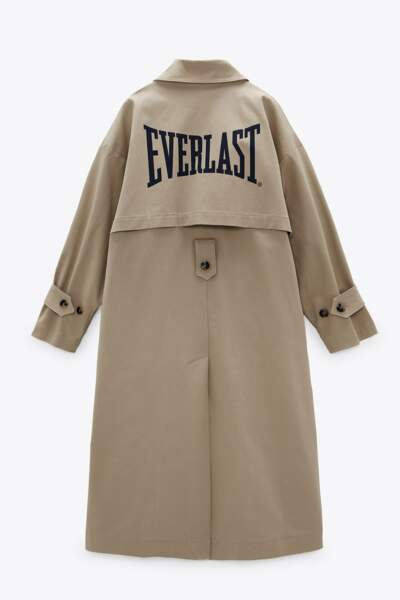 Trench, 89,95€, Everlast x Zara
