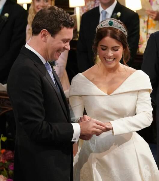 """En octobre 2018 la princesse Eugénie dit """"oui"""" à Jack Broosbank"""