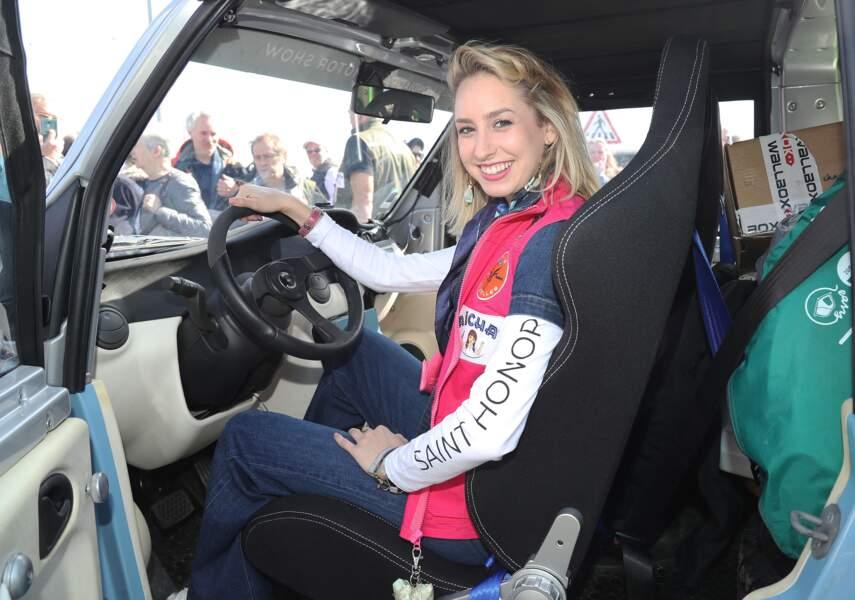 Engagée, la fille du prince Albert de Monaco, Jazmin Grimaldi a participé au Rallye Aïcha des Gazelles, en 2018, avec une voiture parrainée par son père