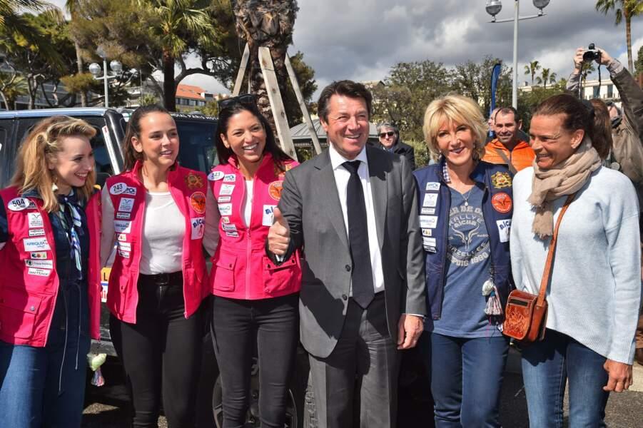 Jazmin Grimaldi était partie au Rallye Aïcha des Gazelles avec sa cousine Pauline Ducret. La mère de cette dernière, Stéphanie de Monaco était présente le jour du départ, le 17 mars 2018