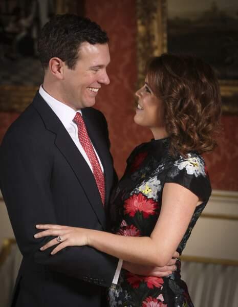 En janvier 2018, la princesse Eugenie et Jack Brooksbank annoncent leurs fiançailles