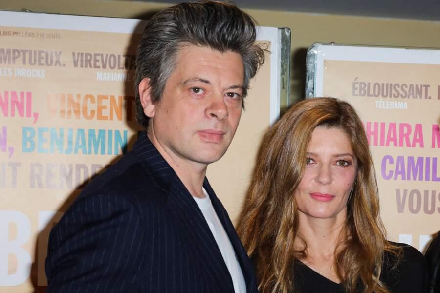 Benjamin Biolay et Chiara Mastroianni à l'UGC Ciné Cité Les Halles à Paris le 30 septembre 2019