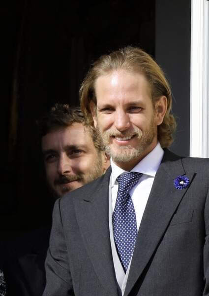 Caroline de Monaco est aussi la maman de Pierre Casiraghi (ci-dessus avec son frère Andréa le 19 novembre 2018)