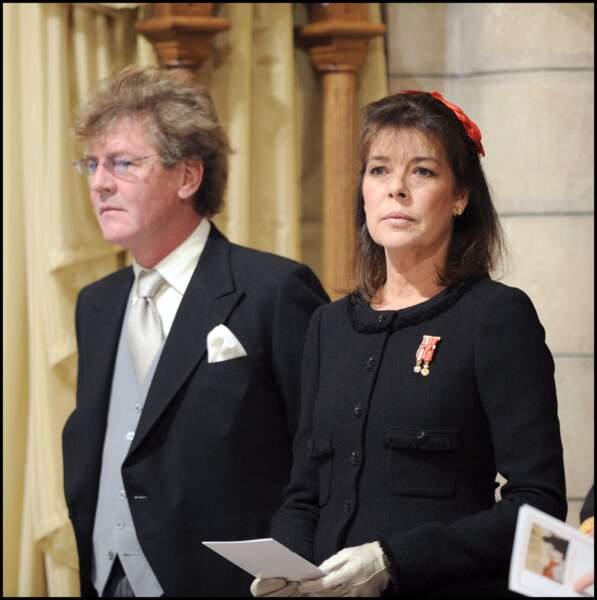 Caroline de Monaco et le prince Ernst August de Hanovre (ici photographié le 19 novembre 2008 lors de la fête nationale du Rocher) ont célébré leur mariage le 23 janvier 1999