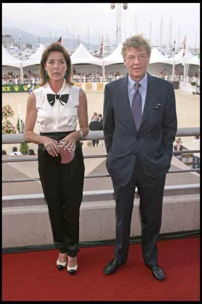 Ensemble, Caroline de Monaco et le prince Ernst August de Hanovre (ci-dessus lors du 15ème jumping international de Monaco) sont les parents d'une fille prénommée Alexandra. Ils sont séparés depuis 2009