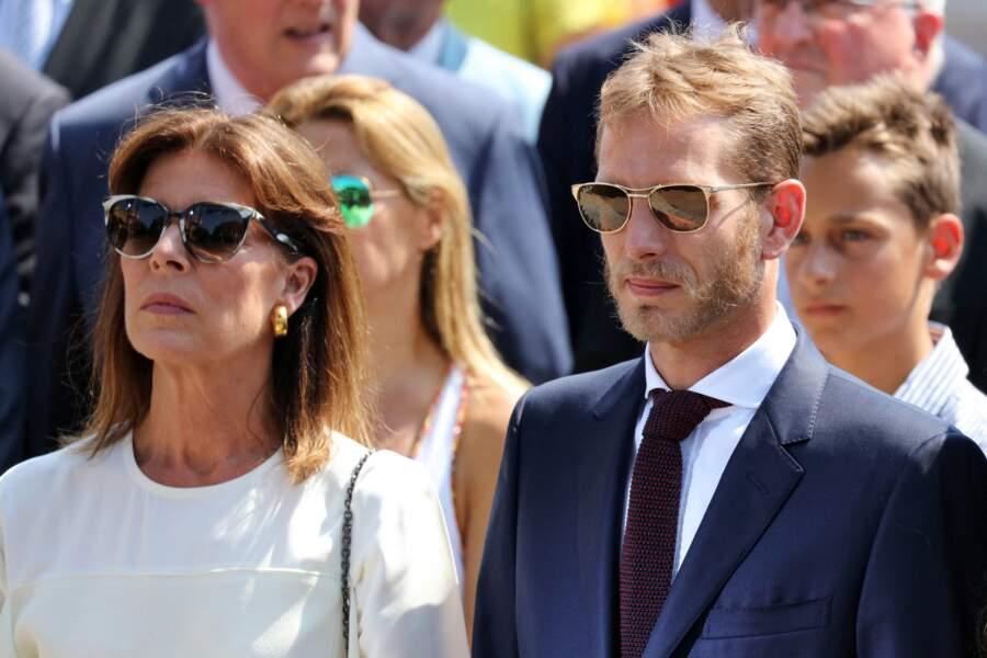 Le fils aîné de Caroline de Monaco (ici pour les 10 ans de règne du prince Albert II le 11 juillet 2015)  a célébré son 36ème anniversaire le 8 juin 2020