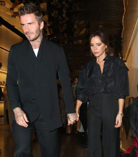David Beckham et Victoria Beckham, ci-dessus à Londres le 30 septembre 2019, sont devenus des icônes de mode incontournables
