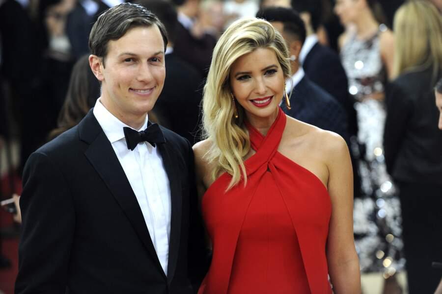 Ivanka Trump et Jared Kushner, ici lors de l'Institute Benefit Gala à New York le 2 mai 2016, ont pris le chemin de la Maison-Blanche ensemble
